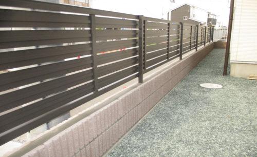高崎市吉井町ブロック積み工事完成