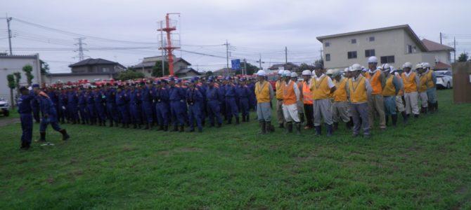 合同水防訓練